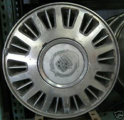 15 15x6 Cadillac DeVille Factory Wheel Rim 4504