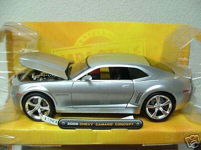2006 Chevy Camaro Concept silver Dub City Kustoms car