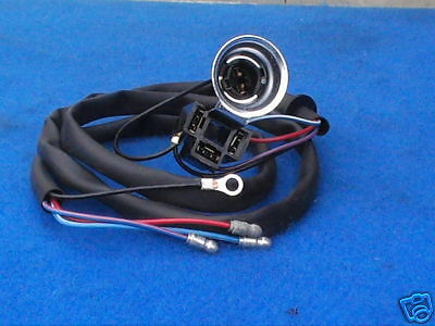 CLASSIC MINI HEADLAMP WIRING LOOM, FOR SEALED BEAM, ---FREEPOST---