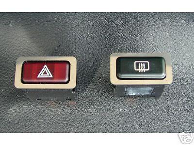 (P6) Blenden für Zusatzschalter Chrom BMW E30