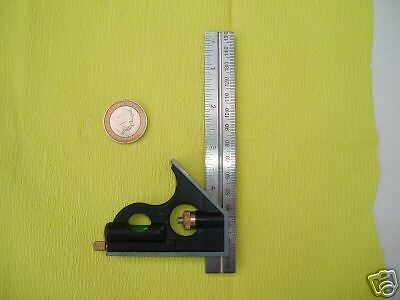 """6""""  (150mm) COMBINATION SQUARE (tool for model making)"""