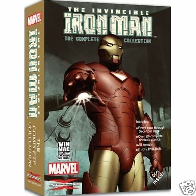 Iron Man complete collection Marvel DVD ROM NEW
